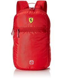PUMA Standard Scuderia Ferrari Replica Backpack - Red