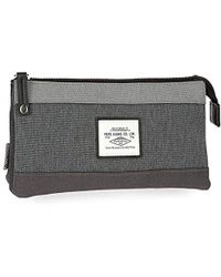 Pepe Jeans Roy Beauty Case, 22 Centimeters - Gray
