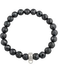 Thomas Sabo - S-Bracelet Charm Club 925 Sterling Hématite - Lyst