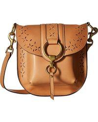 Frye - Ilana Perf Saddle Crossbody Bag Oiled Veg - Lyst