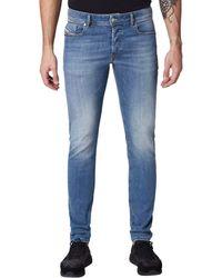 DIESEL Jeans Skinny Uomo - Blu