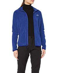 The North Face 100 Glacier Full Zip Jacket - Blue