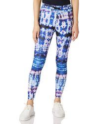 Desigual Legging Tull Tiedye Pantalones Informales - Azul