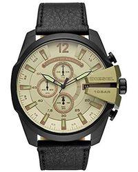 DIESEL Horloge DZ4495 - Métallisé