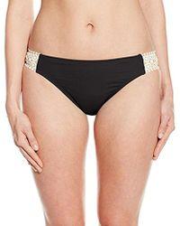 Kenneth Cole Reaction - Ruffle Shuffle Crochet Tab Bikini Bottom - Lyst