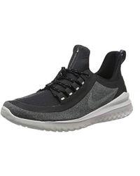 6198eaf8516 Nike Air Zoom Pegasus 34 Shield Trainers In Black 907327-001 in ...