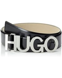HUGO Zula Belt 4 Cm Zl Belt - Black