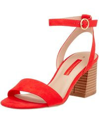 Dorothy Perkins Shady Open Toe Sandals - Red