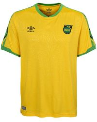 Umbro 2018-2019 Jamaica Home Football Soccer T-Shirt Trikot - Gelb