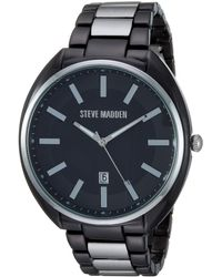 Steve Madden Fashion Watch - Black