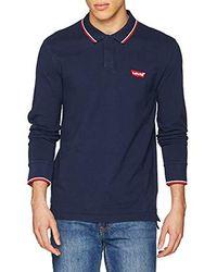 Levi's Ls Modern Hm Polo Poloshirt - Blau