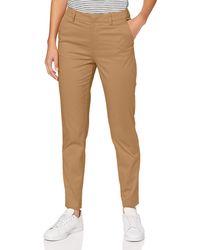 Scotch & Soda Bell' Slim Fit Chino In Mercerized Organic Cotton Shorts - Orange