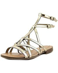 Guess - S Mannie Open Toe Casual Gladiator Sandals - Lyst