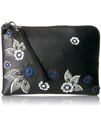 Vera Bradley - Mallory Rfid Wristlet, Leather - Lyst