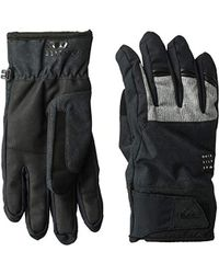 Quiksilver 's Gates Tech Snow Gloves Cold Weather