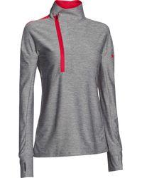 Under Armour Hotshot 1/2 Zip Pullover - Grey