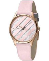 Esprit ES1L029L0035 E.ASY Pink Ladies Watch - Rosa