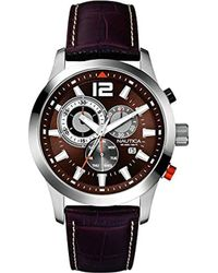 Nautica Horloge A15548G - Marron