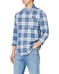 G-Star RAW Bristum 1 Pocket Slim Denim Shirt - Blue