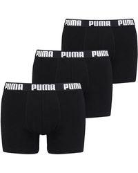 PUMA Everyday Boxer Briefs - Black