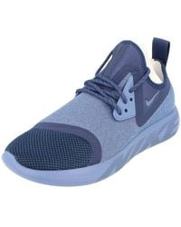 Nike Lunarcharge Essential S Running Trainers 923619 Trainers Shoes - Blue