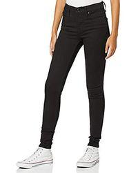 Levi's 310 PL Shping SPR Skinny Jeans Donna - Nero