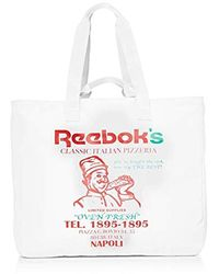 Reebok Bags Graphic Food White Standard Size