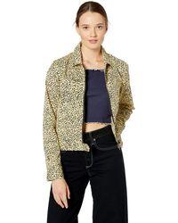 Volcom Junior's Frochickie Zip Front Jacket - Green