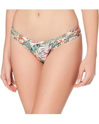 Iris & Lilly Hipster Pant with Side Binding Bikini Bottoms - Multicolore