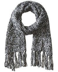 Nine West - Cable Open Stitch Muffler - Lyst