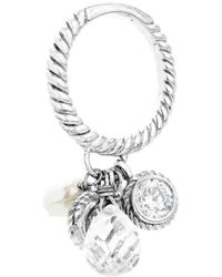 Guess Collection Gc Cp306r01-52 - Women's Ring, Silver, Size 52 - Multicolour