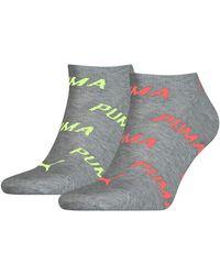 PUMA BWT Sneaker-Trainer Socks - Multicolore