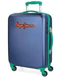 Pepe Jeans Bristol Luggage Set - Blue