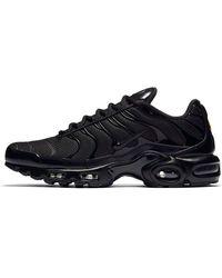 Nike Männer Sneaker Air Vapormax Plus - Schwarz