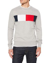 Tommy Hilfiger - Flag Chest Logo Sweatshirt - Lyst