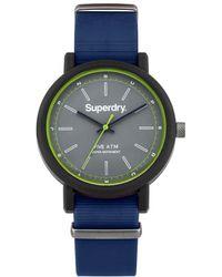 Superdry - Analogique Quartz Montre avec Bracelet en Silicone SYG197U - Lyst