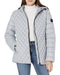 Steve Madden Ladies Packable Jacket - Multicolor