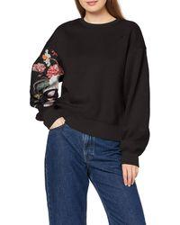 G-Star RAW Graphic 2 Loose Sweatshirt - Schwarz