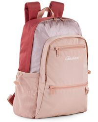 Skechers Casual Backpack Laptop Compartment Inside. Perfect For Everyday Usage. Practical - Pink