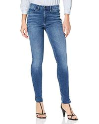 920db0aff Tommy Hilfiger 's Como Rw Cropped Cara Skinny Jeans in Blue - Lyst