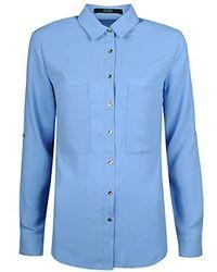 Guess - femmes Chemise en bleu