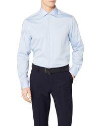 Tommy Hilfiger Core Twill Classic Shirt Camisa - Azul