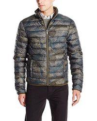 Calvin Klein - Jeans Camo Print Puffer Jacket - Lyst