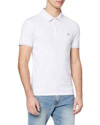 Guess Amias Ss Polo Shirt - White