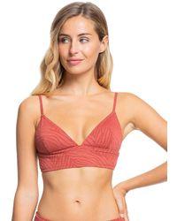 Roxy Haut de Bikini - - M - Rouge