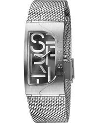 Esprit Reloj Analógico para Mujer de Cuarzo con Correa en Acero Inoxidable ES1L046M0025 - Metálico