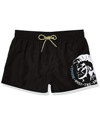 DIESEL Bmbx-sandy Swim Shorts - Black