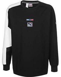 PUMA BMW MMS Street Sweater - Nero