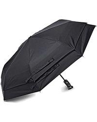 Samsonite Manual Flat Compact Umbrella - Black