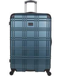 Ben Sherman Nottingham Lightweight Hardside 4-wheel Spinner Travel Luggage - Green